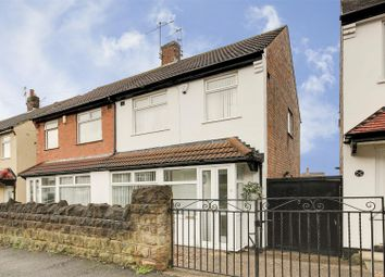 Thumbnail 3 bed semi-detached house for sale in Bannerman Road, Bulwell, Nottinghamshire