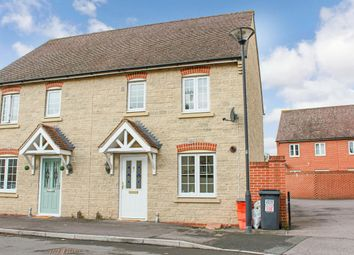 Thumbnail 3 bed semi-detached house to rent in Winterbourne Road, Swindon