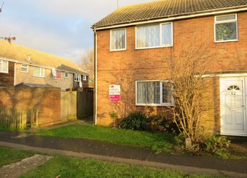 Thumbnail 3 bed end terrace house to rent in Jubilee Walk, Wisbech