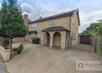 Thumbnail 4 bedroom detached house for sale in Long Meadow Walk, Carlton Colville, Lowestoft