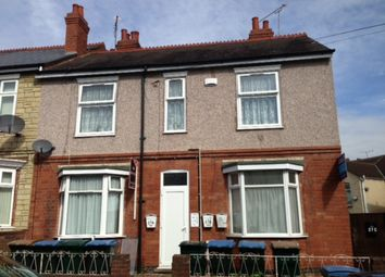 Thumbnail 1 bedroom flat to rent in 27A St Agathas Road, Coventry