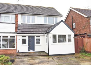 Thumbnail 3 bed semi-detached house for sale in Ozonia Avenue, Wickford