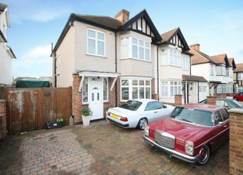 Thumbnail 3 bed semi-detached house for sale in Senhouse Road, Sutton, Surrey