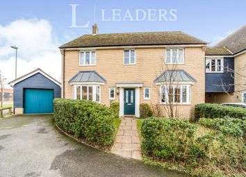 Thumbnail 4 bedroom detached house to rent in Osprey Close, Bury St. Edmunds