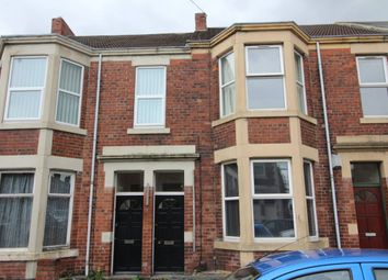 Thumbnail 3 bedroom flat to rent in Warton Terrace, Heaton, Newcastle Upon Tyne