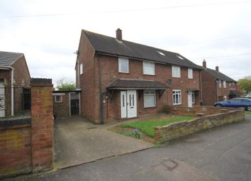 Thumbnail 3 bedroom semi-detached house to rent in Farley Farm Hill, Luton