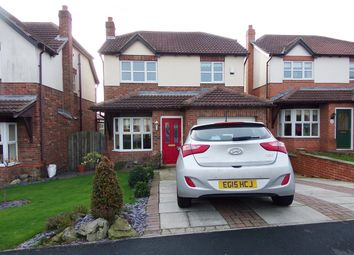 Thumbnail 3 bed detached house for sale in Briardene Way, Easington Colliery, Peterlee