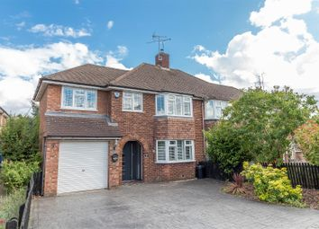 Thumbnail 4 bed semi-detached house for sale in Robindale Avenue, Earley, Reading