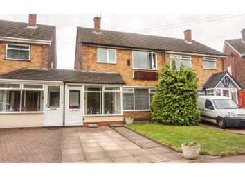 Thumbnail 3 bed semi-detached house for sale in Digby Drive, Marston Green