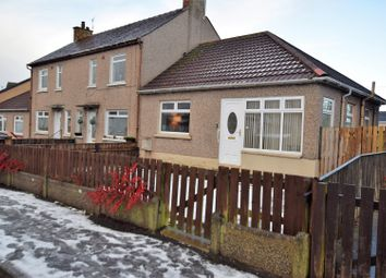 Thumbnail 1 bed terraced bungalow for sale in Fergushill Road, Kilwinning
