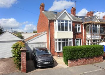 Thumbnail 4 bed semi-detached house for sale in Third Avenue, Exeter