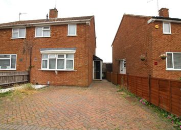 Thumbnail 2 bed semi-detached house for sale in Blackthorn Drive, Luton, Bedfordshire
