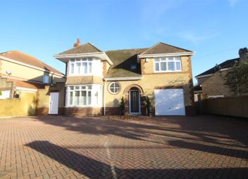 Thumbnail 4 bed detached house for sale in Marlborough Road, Swindon