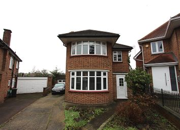 Thumbnail 3 bed detached house to rent in Hadley Close, Winchmore Hill, London