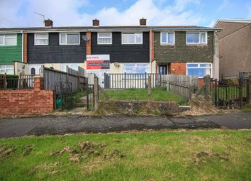Thumbnail 3 bed terraced house for sale in Gurnos Estate, Brynmawr, Ebbw Vale, Gwent
