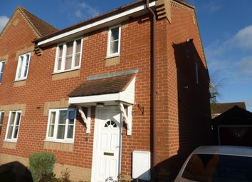 Thumbnail 3 bed property to rent in Blackthorn Road, Attleborough