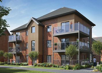 Thumbnail 1 bed flat for sale in Plot 272, Crowthorne
