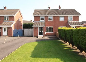 Thumbnail 3 bed semi-detached house for sale in Brentwood Way, Newtownards