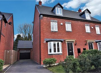 Thumbnail 4 bed semi-detached house for sale in Cardinal Drive, Burbage