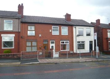Thumbnail 2 bed terraced house to rent in Warrington Road, Goose Green