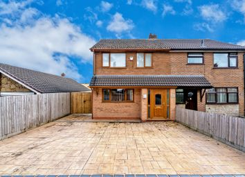 Thumbnail 3 bed semi-detached house for sale in Littleworth Road, Hednesford, Cannock