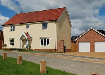 Thumbnail 4 bed detached house for sale in Felgate Way, Grundisburgh, Woodbridge