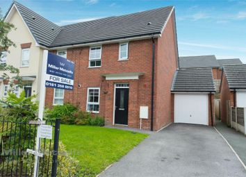 Thumbnail 3 bed semi-detached house to rent in James Street, Radcliffe, Manchester