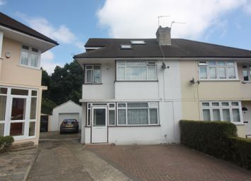 Thumbnail 4 bedroom semi-detached house for sale in West Close, Greenford