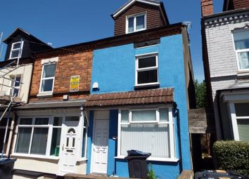 Thumbnail 7 bed terraced house for sale in Heeley Road, Selly Oak, Birmingham, West Midlands