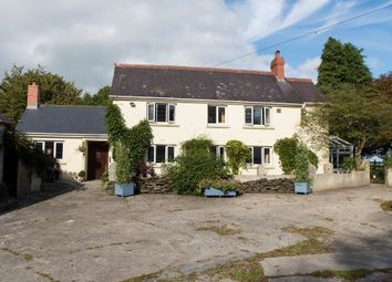 Thumbnail 5 bed farmhouse for sale in Cwmbach, Whitland