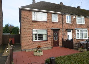 Thumbnail 3 bedroom end terrace house for sale in Dominion Road, Glenfield, Leicester