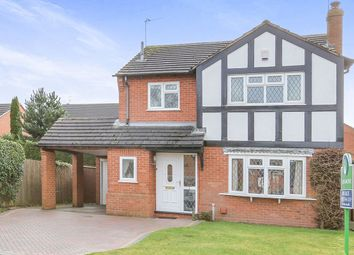 Thumbnail 4 bed detached house for sale in Goodrich Avenue, Perton, Wolverhampton