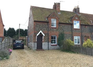 Thumbnail 3 bedroom cottage for sale in Low Road, Grimston, King's Lynn