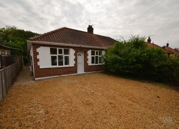 Thumbnail 3 bed semi-detached bungalow for sale in Oak Avenue, Thorpe St. Andrew, Norwich