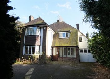 Thumbnail 4 bed detached house for sale in Rosemary Hill Road, Four Oaks, Sutton Coldfield