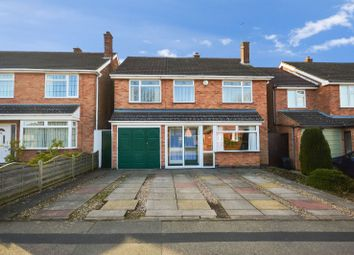 Thumbnail 5 bed detached house for sale in Estoril Avenue, Wigston, Leicester