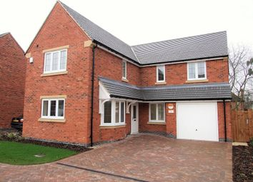 Thumbnail 4 bed detached house for sale in Derby Road, Hathern, Loughborough