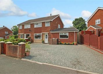 Thumbnail 4 bed semi-detached house for sale in Maesteg, Penycae, Wrexham