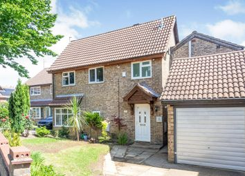 Thumbnail 5 bed detached house for sale in Chewton Close, Duston, Northampton