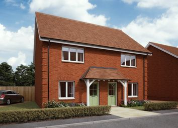 Thumbnail 2 bedroom semi-detached house for sale in Newlynne Close, Swindon