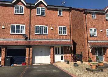 Thumbnail 4 bed town house for sale in Wilmhurst Road, Warwick