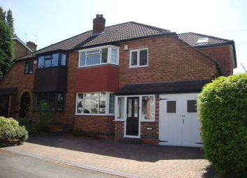 Thumbnail 3 bed semi-detached house to rent in Ulverley Green Road, Olton, Solihull