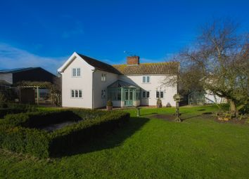 Thumbnail Farmhouse for sale in Park Road, Redlingfield, Eye