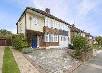 Thumbnail 4 bed semi-detached house for sale in Severn Drive, Upminster