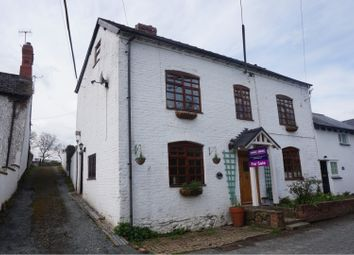 Thumbnail 4 bed semi-detached house for sale in High Street, Llanfair Caereinion, Welshpool