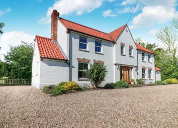 Thumbnail 5 bed country house for sale in Ashby Lane, Ashby Cum Fenby, Grimsby