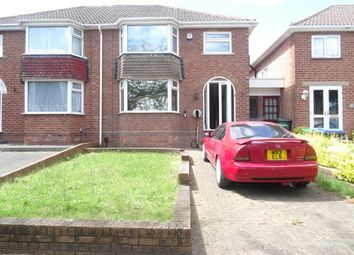 Thumbnail 3 bedroom semi-detached house to rent in Eastwood Road, Great Barr