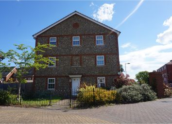 Thumbnail 3 bed town house for sale in Russet Drive, Bury St. Edmunds