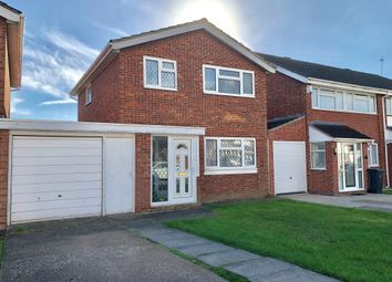 Thumbnail 3 bed detached house for sale in Braemar Drive, Rushey Mead, Leicester