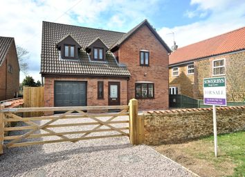 Thumbnail 4 bed detached house for sale in The Green, North Runcton, King's Lynn